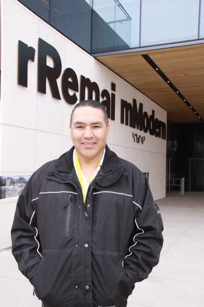 As Indigenous Relations Advisor for the rRemai mModern, Lyndon Linklater is responsible for ensuring Indigenous art, culture, and practices are incorporated. The gallery celebrated its first anniversary in 2018.