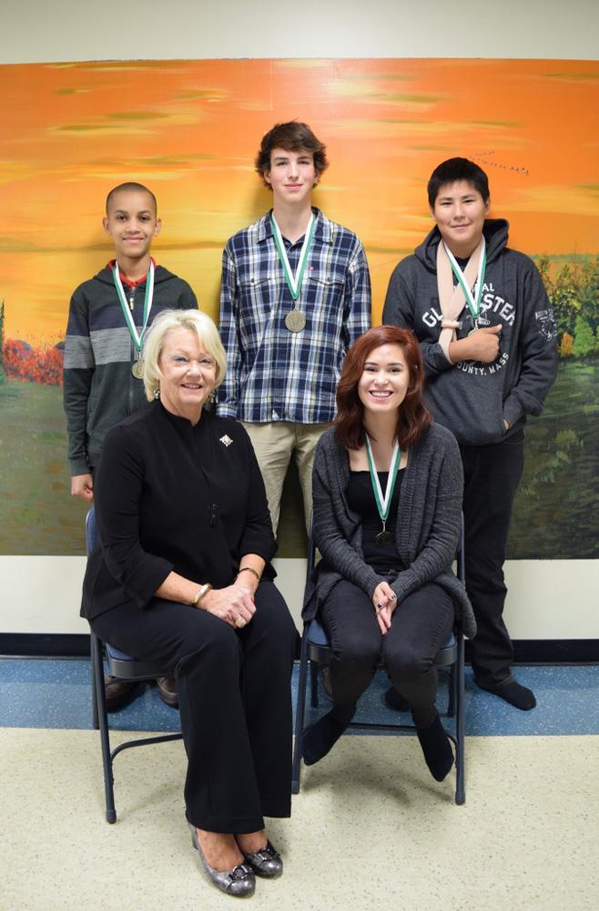 Award-winning students from Buffalo Narrows