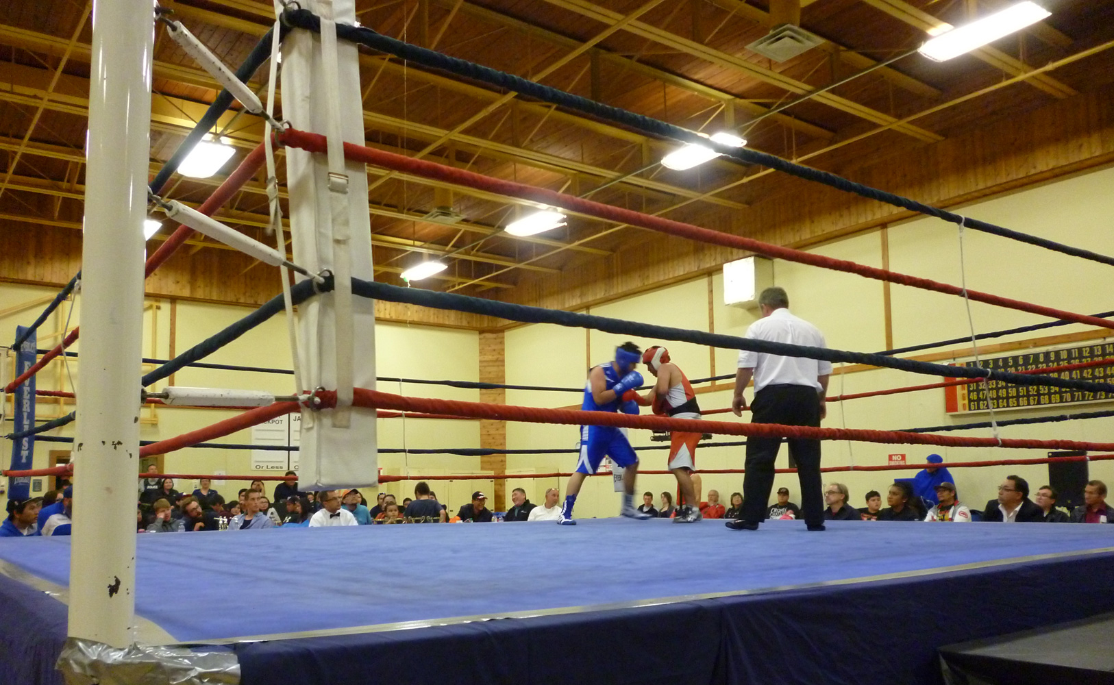 Rumble in the Valley boxing event