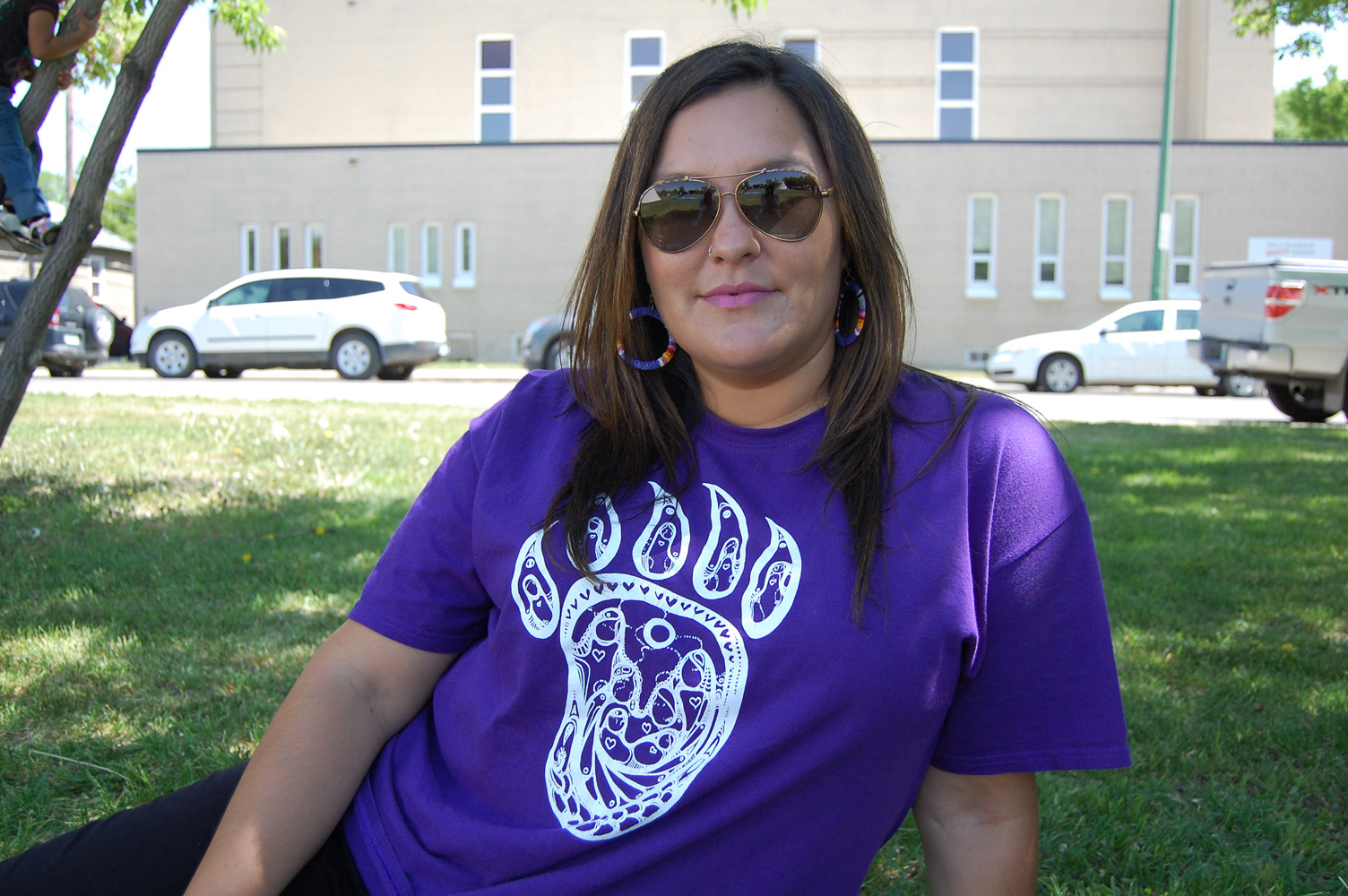 Jaqueline Anaqoud says that the walk unifies the people in the community.