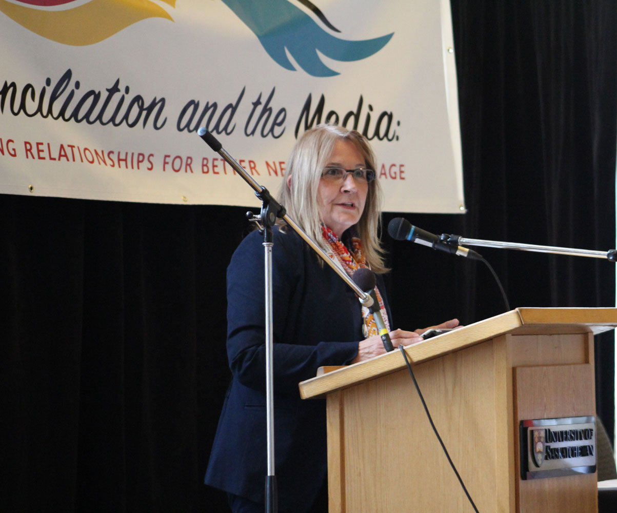 Marie Wilson brought a unique perspective as a former journalist who served as TRC commissioner.