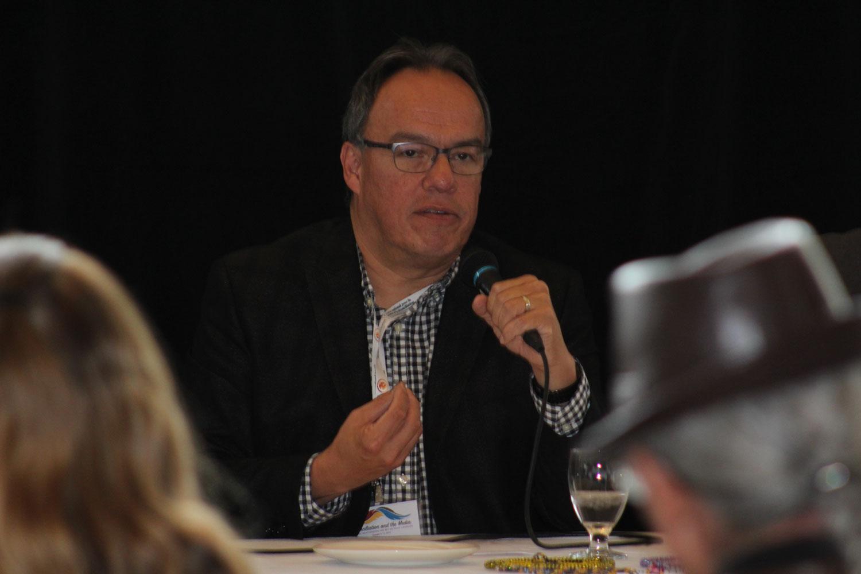 Journalist Nelson Bird