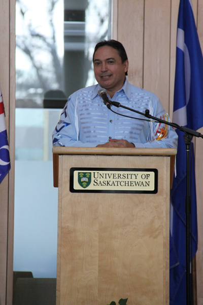 National Assembly of First Nations Chief Perry Bellegarde