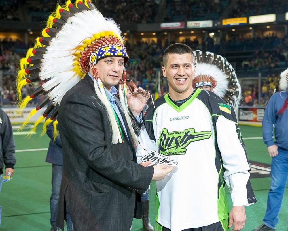 First Nations Night at Saskatchewan Rush