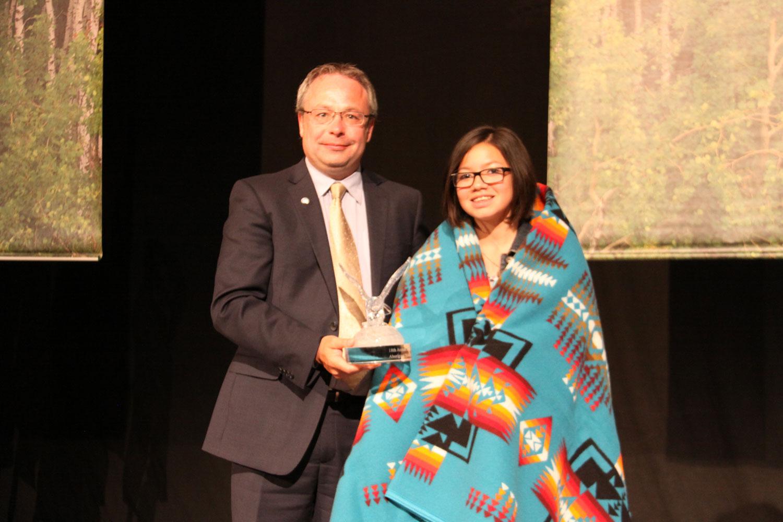 Jodie Delorme, Community Service Award