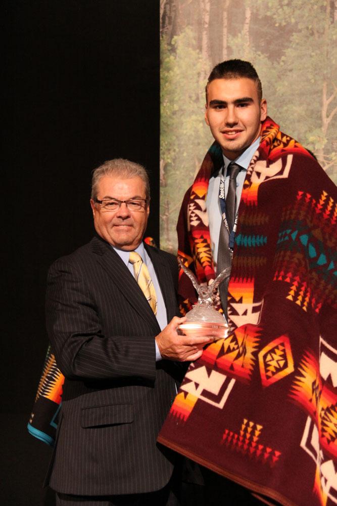 Mario Ahenakew, Spirit Award