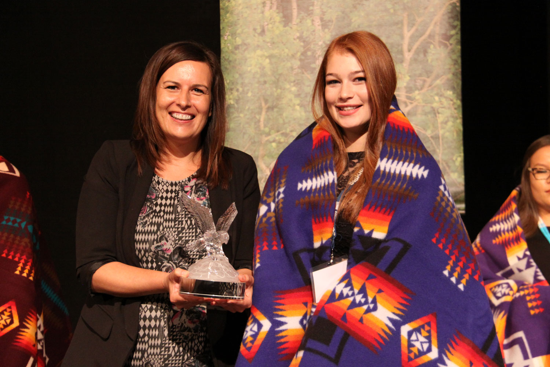 Kaylen Muir, Female Sports Award