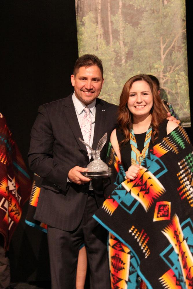 Leah Boyer, Leadership Award