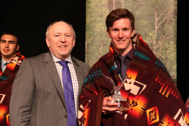 Liam Cummins, Outstanding Male Award
