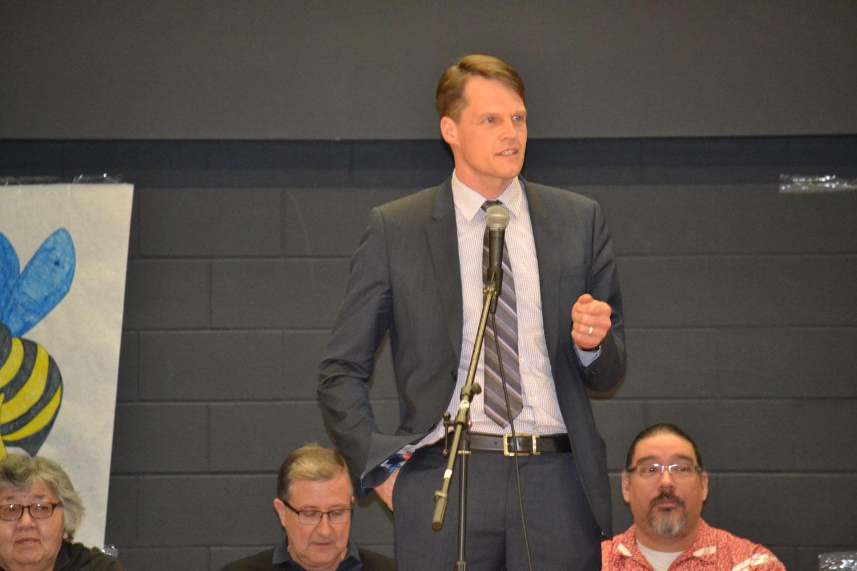 Saskatoon Mayor Charlie Clark