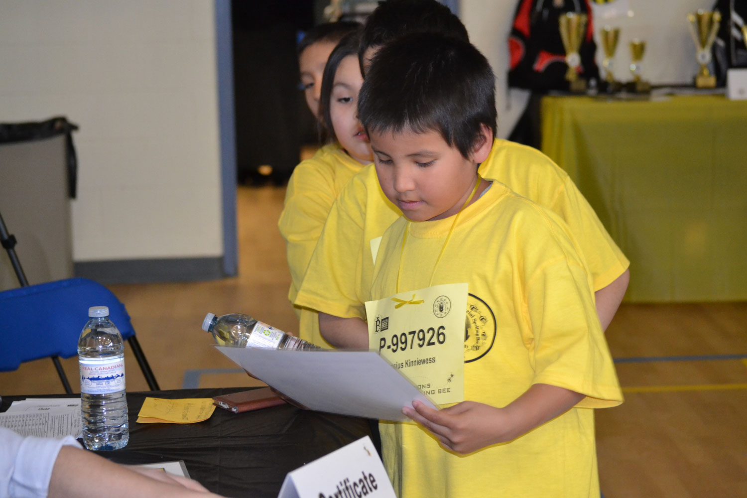 2nd annual First Nations Provincial Spelling Bee