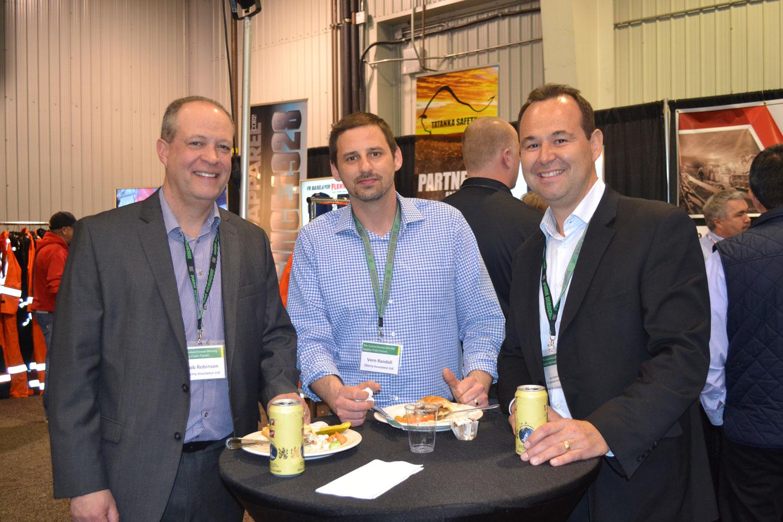 Rob Robinson, Vern Randall, and Brad Darbyshire