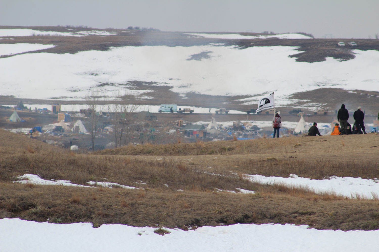 Eviction Day for Oceti Camp