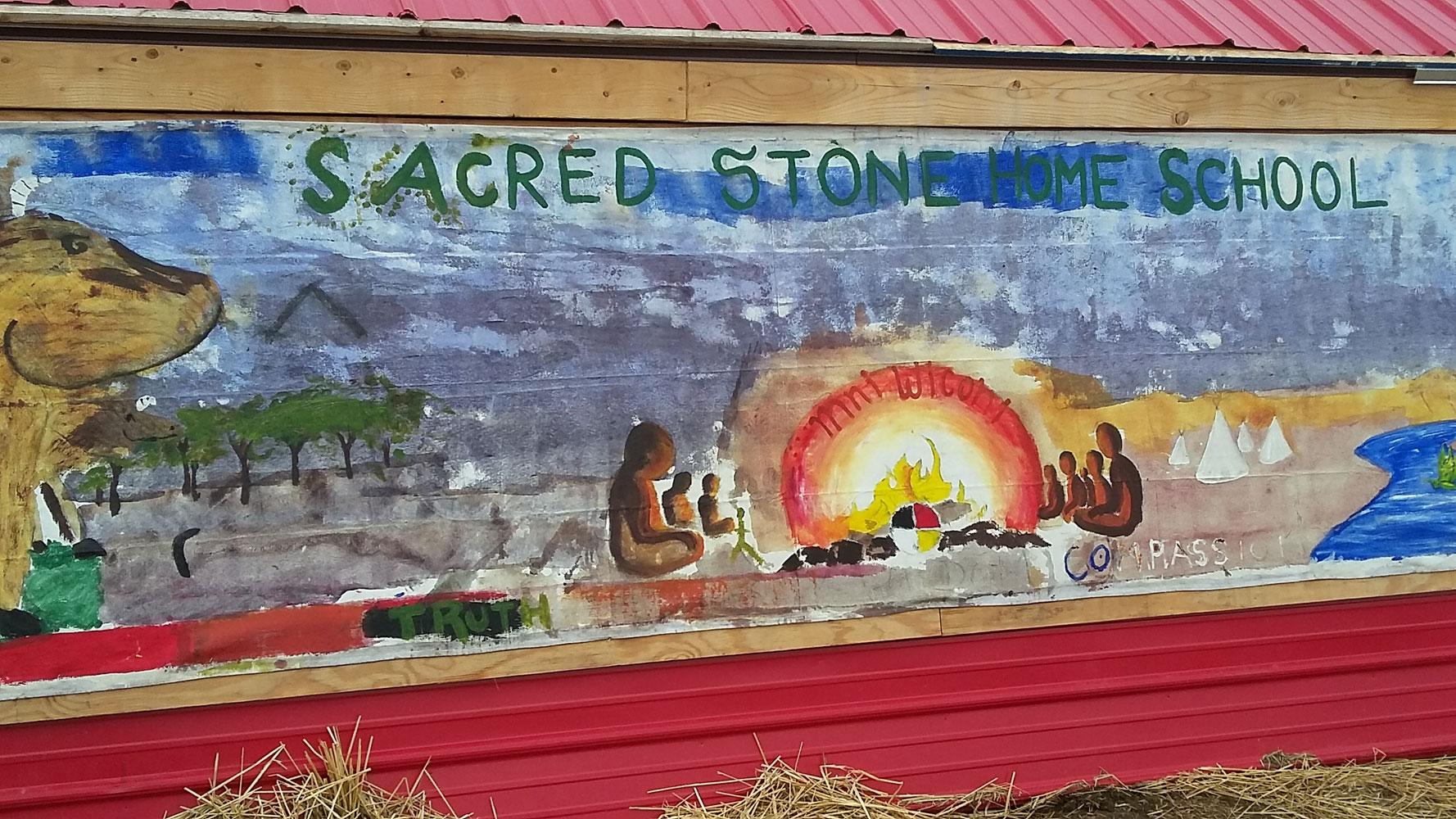 Sacred Stone camp school