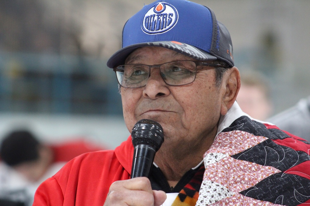 Fred Sasakamoose was inducted into the Saskatchewan Sports Hall of Fame this year, following on the heels of last year's induction into the Order of Canada.