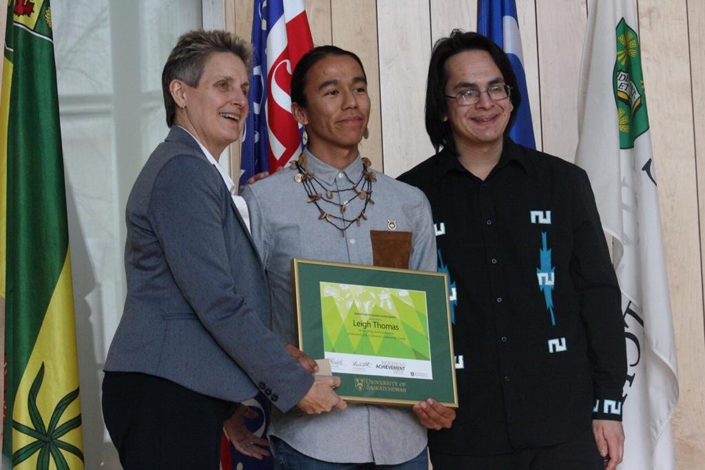 Leigh Thomas, Award for Academic Excellence
