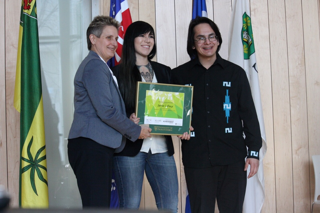 Jamie Lafleur, Award for Research