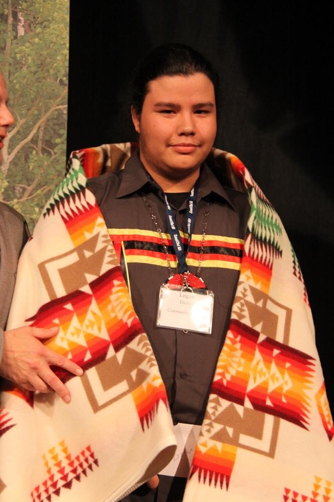 Logan Deiter, Community Service Award
