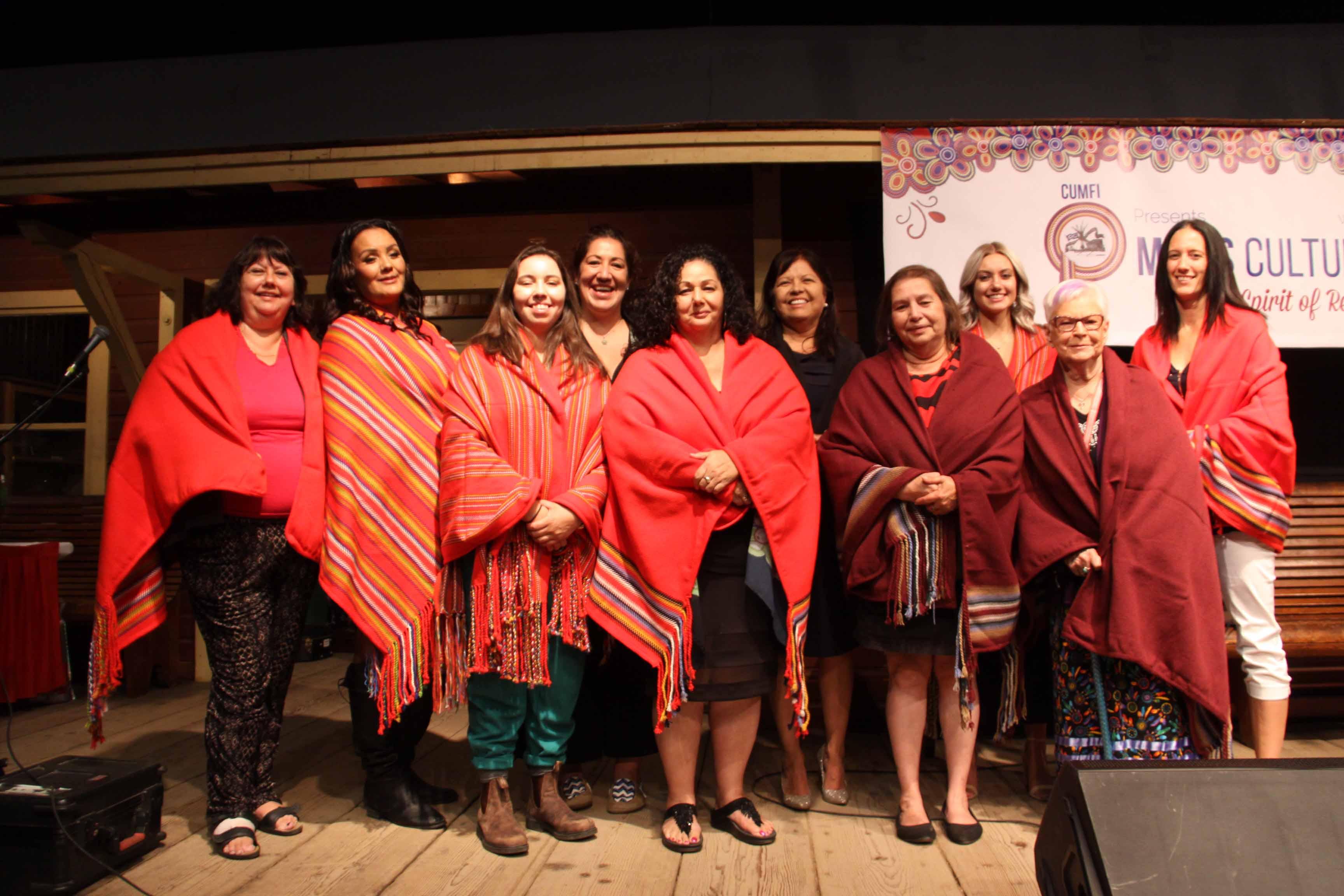 Honouring women at 2019 Métis Culture Days.