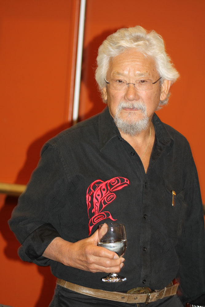 David Suzuki presented to the Chiefs-in-Assembly