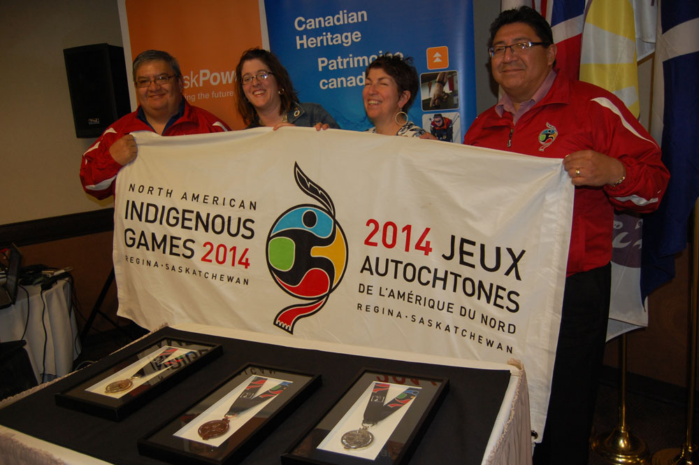 Alphonse Bird (Saskatchewan First Nations CDC Association), Jennifer Shupe (Laurie Artiss - The Pin People), Kelly Folk (Laurie Artiss - The Pin People)