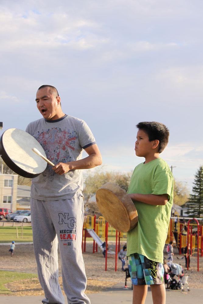 Pleasant Hill Drummers in Saskatoon