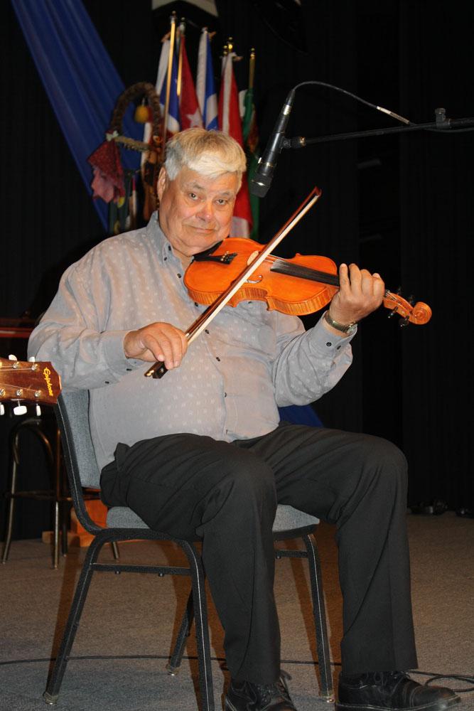 Master of the Métis Fiddle.