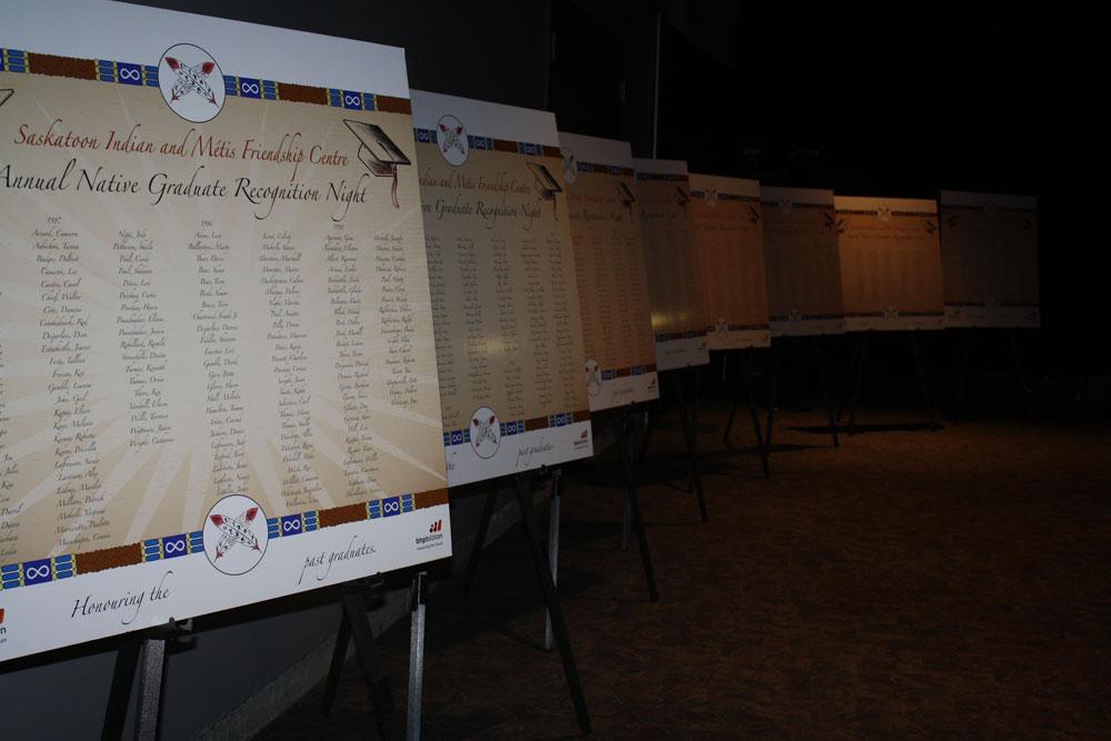 List of 30 years of Aboriginal graduates from Saskatoon schools.