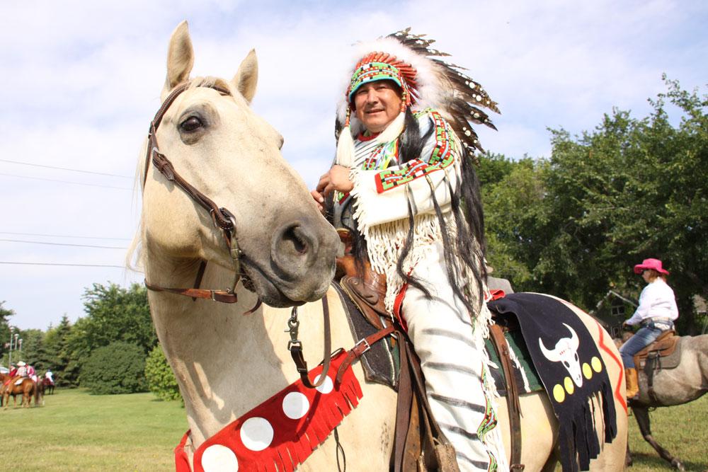 Whitecap tradition in Exhibition parade