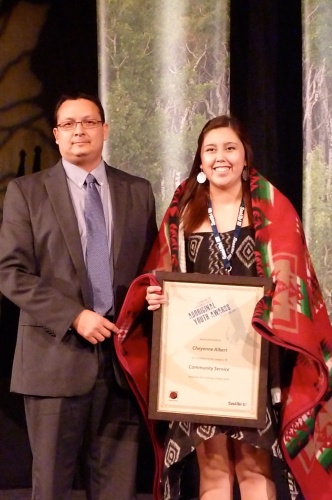 The 16th annual Sasktel Aboriginal Youth Awards winners