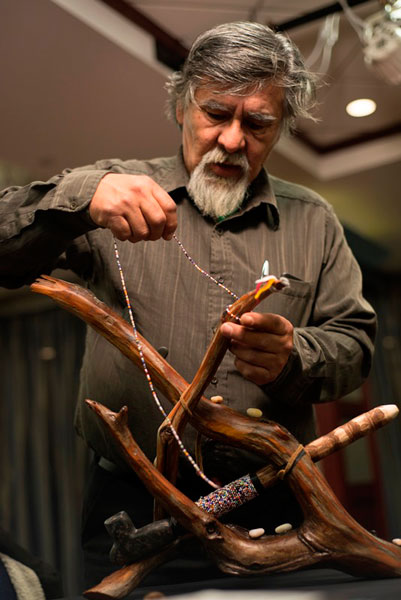 Tom Charles. Rows and Rows and Rows of Doors Episode. Tom puts the finishing touches on his pipe stand.
