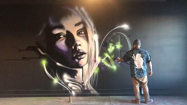 Spray Paint Creative Graffiti Art