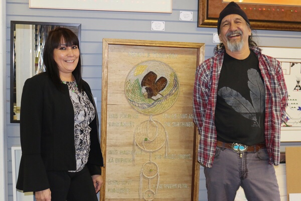 Proceeds from Treaty artwork support charities