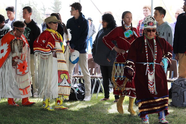 Dancers enjoyed a few hours at the FNUniv Fall powwow.