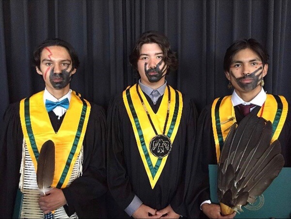 Graduates use ceremony to bring attention to MMIWG