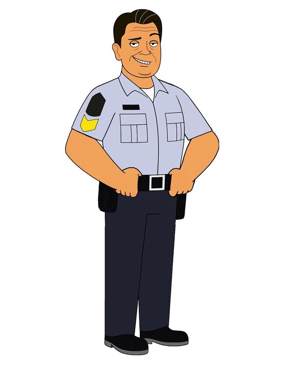 Lorne Cardinal as Davis Quinton on the Corner Gas Animated to premiere on April 2.
