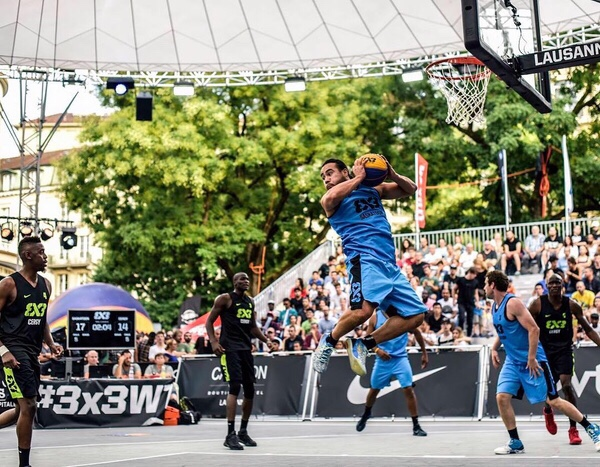 He and his team were a force to reckon with at the international 3x3 tourney in Saskatoon this past summer.