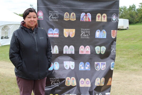 Batoche hosts final ceremony of Walking With Our Sisters exhibit