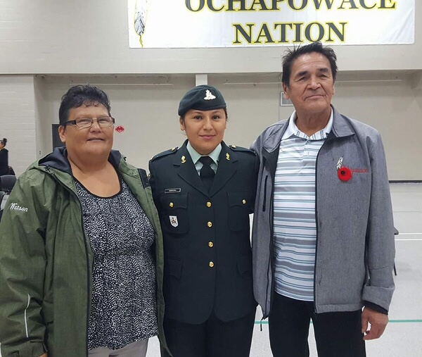 Ochapowace mom right at home in the army