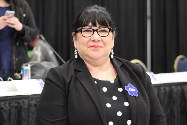 Marg Friesen was one of the 98 voting delegates at this year's MNLA.