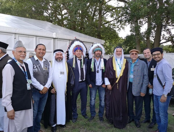 Indigenous leaders join largest Muslim gathering in U.K.