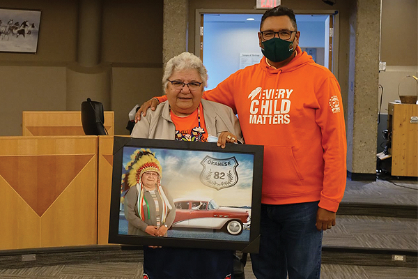 Longest serving chief in Canada, Day Walker Pelletier passes the torch