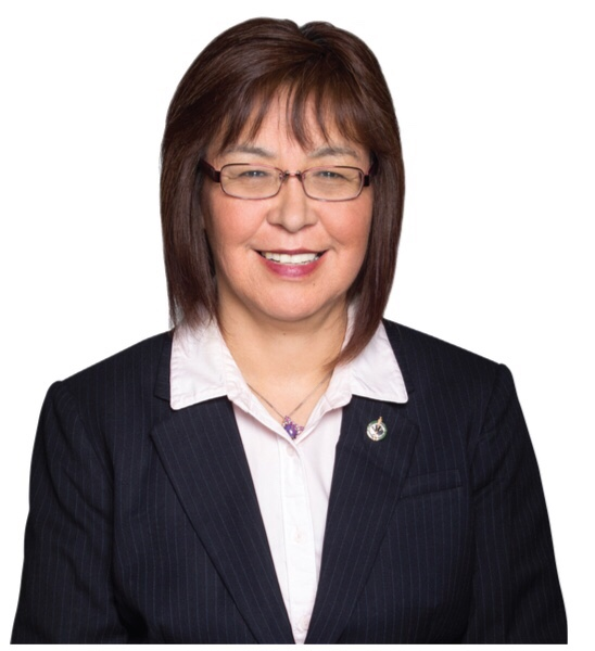 Georgina Jolibois is the NDP candidate and current MP for the riding of Desnethe-Missinippi-Churchill River.
