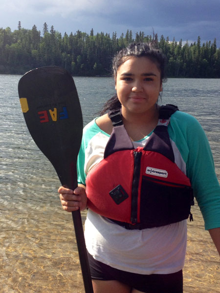 At this year's NAIG, Summer won four gold medals and one silver competing in the canoeing sport for Team Saskatchewan.