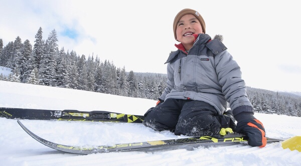 Students from Northern Albertan communities participating in Spirit North ski days